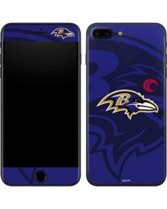 Baltimore Ravens Double Vision iPhone 8 Plus Skin