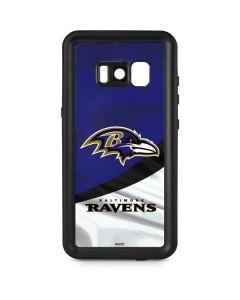 Baltimore Ravens Galaxy S8 Plus Waterproof Case