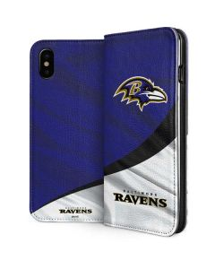 Baltimore Ravens iPhone XS Max Folio Case
