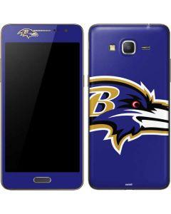 Baltimore Ravens Large Logo Galaxy Grand Prime Skin
