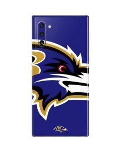 Baltimore Ravens Large Logo Galaxy Note 10 Skin