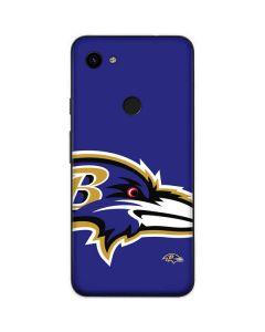 Baltimore Ravens Large Logo Google Pixel 3a Skin
