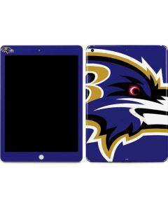 Baltimore Ravens Large Logo Apple iPad Skin