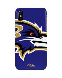 Baltimore Ravens Large Logo iPhone XS Max Lite Case