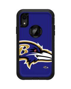 Baltimore Ravens Large Logo Otterbox Defender iPhone Skin