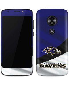 Baltimore Ravens Moto E5 Play Skin