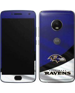 Baltimore Ravens Moto G5 Plus Skin