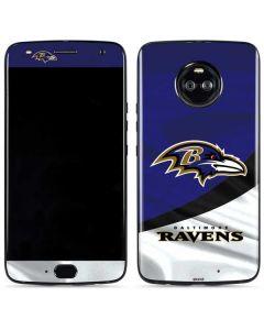 Baltimore Ravens Moto X4 Skin