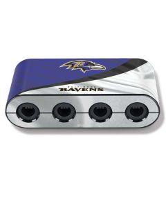 Baltimore Ravens Nintendo GameCube Controller Adapter Skin