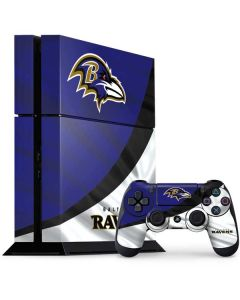 Baltimore Ravens PS4 Console and Controller Bundle Skin