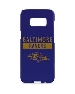Baltimore Ravens Purple Performance Series Galaxy S8 Plus Lite Case