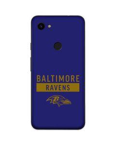 Baltimore Ravens Purple Performance Series Google Pixel 3a Skin
