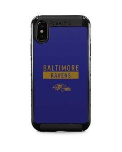 Baltimore Ravens Purple Performance Series iPhone XS Max Cargo Case