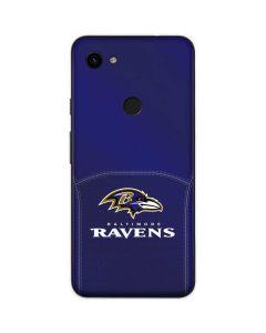 Baltimore Ravens Team Jersey Google Pixel 3a Skin
