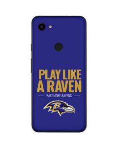 Baltimore Ravens Team Motto Google Pixel 3a Skin