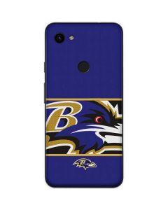 Baltimore Ravens Zone Block Google Pixel 3a Skin