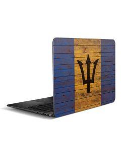 Barbados Flag Dark Wood Zenbook UX305FA 13.3in Skin
