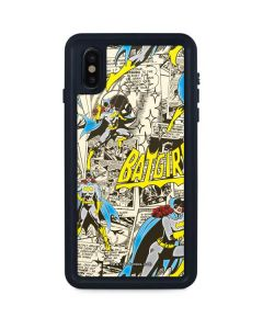 Batgirl All Over Print iPhone XS Max Waterproof Case