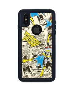 Batgirl All Over Print iPhone XS Waterproof Case