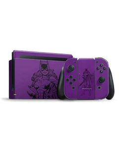 Batgirl Comic Pop Nintendo Switch Bundle Skin