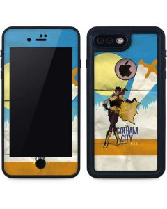 Batgirl- Fly Gotham City Airlines iPhone 8 Plus Waterproof Case