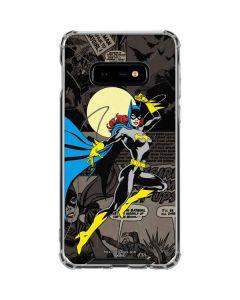 Batgirl Mixed Media Galaxy S10e Clear Case