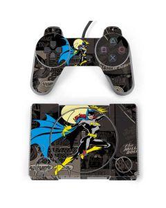 Batgirl Mixed Media PlayStation Classic Bundle Skin