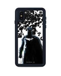 Batman and Bats iPhone XS Max Waterproof Case