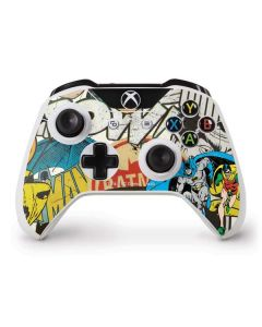 Batman and Robin Vintage Xbox One S Controller Skin