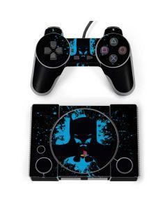 Batman Blue Splash PlayStation Classic Bundle Skin