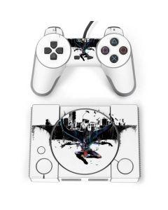 Batman Cape City PlayStation Classic Bundle Skin