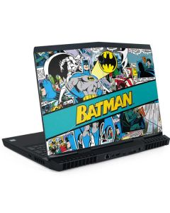 Batman Comic Book Dell Alienware Skin