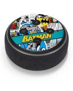 Batman Comic Book Amazon Echo Dot Skin