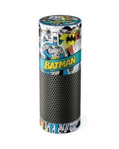 Batman Comic Book Amazon Echo Skin