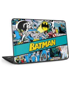 Batman Comic Book HP Chromebook Skin