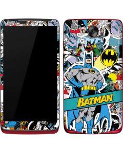 Batman Comic Book Motorola Droid Skin