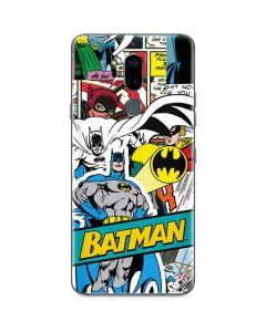 Batman Comic Book G7 ThinQ Skin