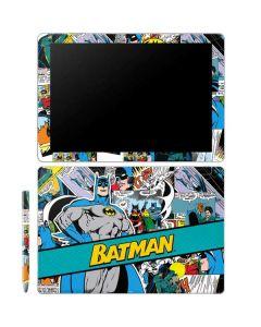 Batman Comic Book Galaxy Book 12in Skin