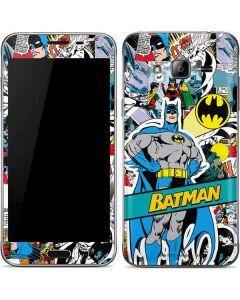 Batman Comic Book Galaxy J3 Skin