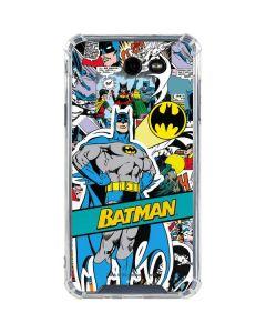 Batman Comic Book Galaxy J7 (2017) Clear Case