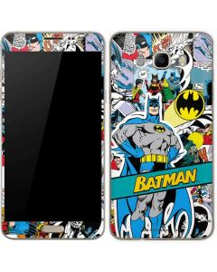 Batman Comic Book Galaxy J7 Skin