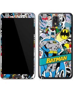 Batman Comic Book Galaxy Note 3 Skin