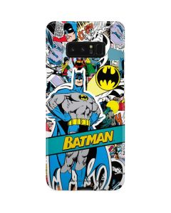 Batman Comic Book Galaxy Note 8 Lite Case
