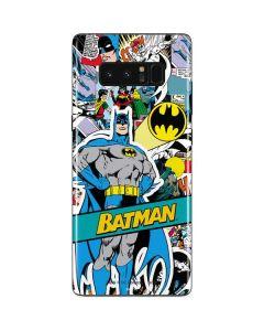 Batman Comic Book Galaxy Note 8 Skin