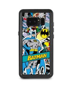 Batman Comic Book Galaxy Note 8 Waterproof Case