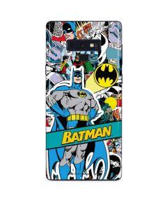 Batman Comic Book Galaxy Note 9 Skin