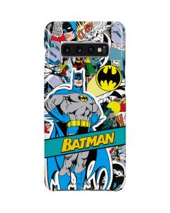Batman Comic Book Galaxy S10 Plus Lite Case