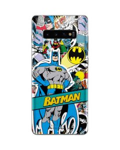 Batman Comic Book Galaxy S10 Plus Skin