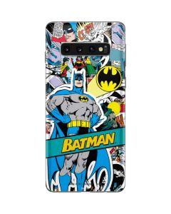Batman Comic Book Galaxy S10 Skin
