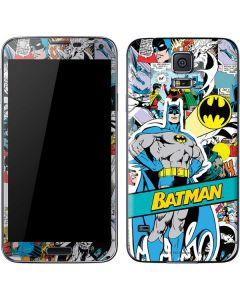Batman Comic Book Galaxy S5 Skin